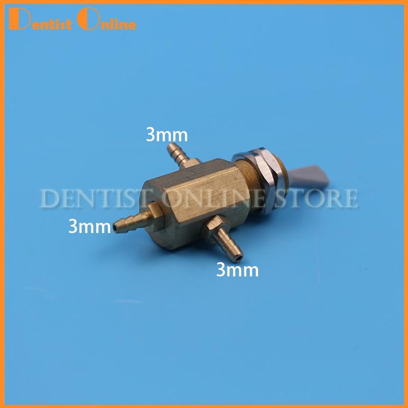 Dental Stuhl Einheit Wasser Transfer Switch Wasser Einsteller Wasser Austausch Ventil 3mm Kupfer Anschluss