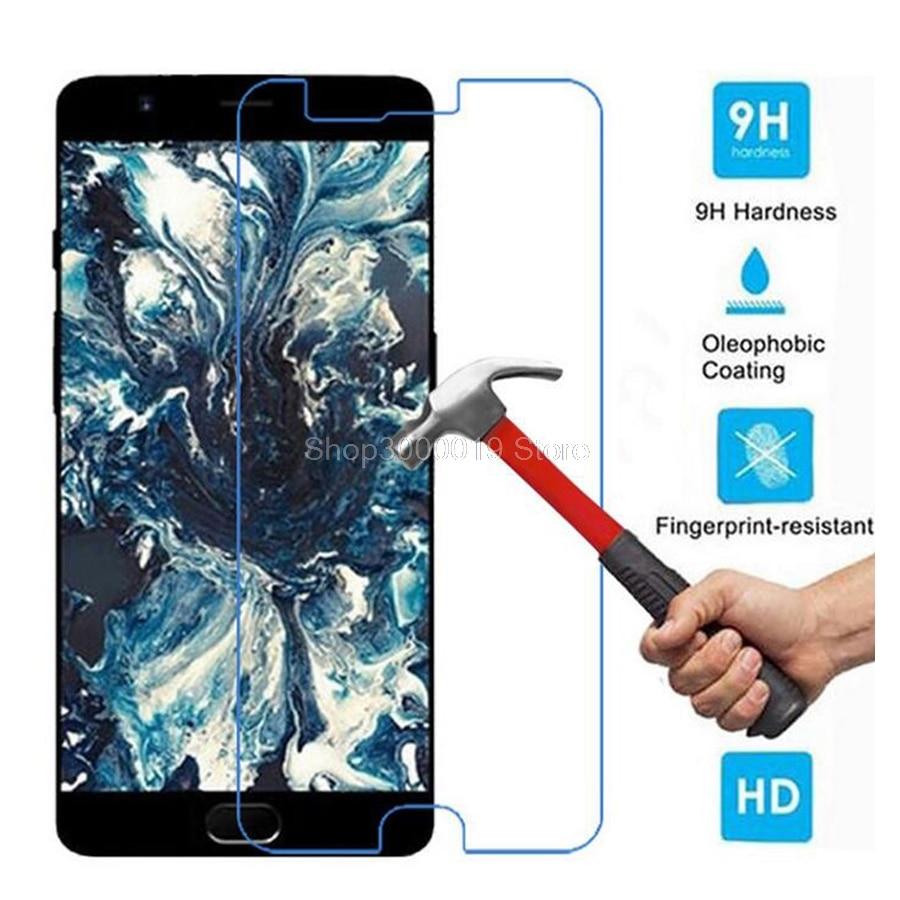 Para Oneplus 5 vidrio templado Original 9 H 2.5D película protectora a prueba de explosiones Protector de pantalla LCD para Oneplus 5 cinco Oneplus5>