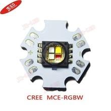 Livraison gratuite 2 pièces US Original CREE MCE-RGBW 6000 K haute puissance Led émetteur spécial pour la lumière de scène