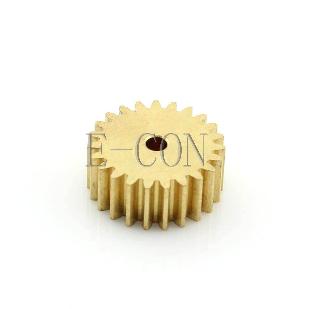 1 piezas 2mm/3mm/4mm/5mm/6mm de diámetro agujero 24 dientes ancho 5 módulo 0,5 Motor de engranaje