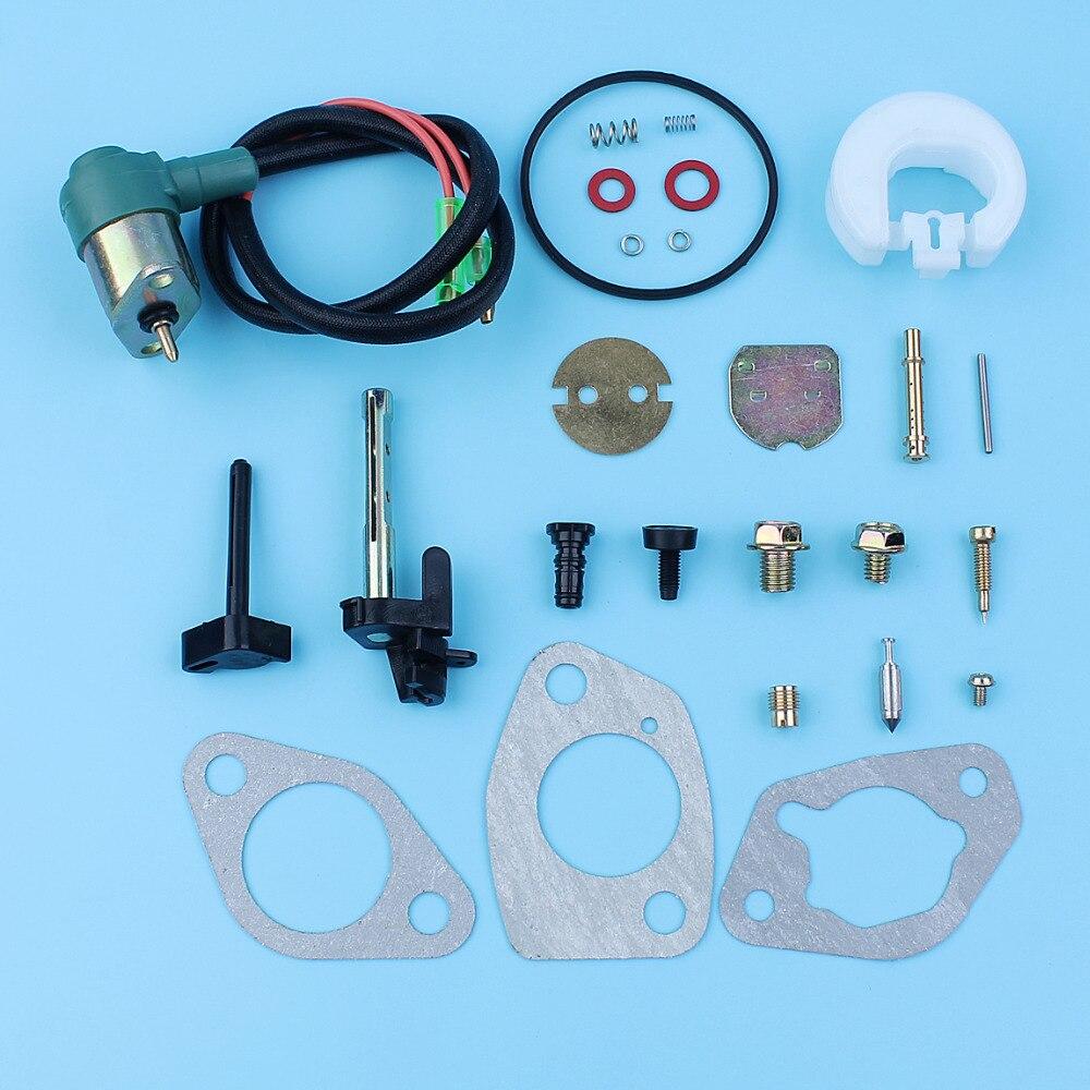 Vergaser Reparatur Rebuild Kraftstoff Magnetventil Dichtung Set Für Honda GX390 GX340 13HP 11HP 188F Generator Motor Motor