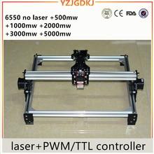 2018 new style 3000 백만와트 DIY 레이저 engraving 기계, 3 와트 diy 마킹 기계, diy 레이저 engraving 기계, engraving 문의를 환영합니다 65*50 센치메터