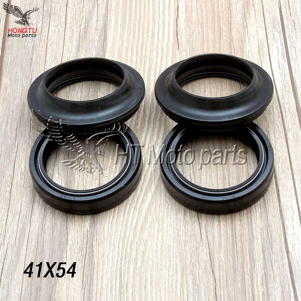 Cubierta antipolvo para amortiguador de horquilla delantera para Honda PC800 VFR 800 Fi interventor VTR1000F ST 1100 VT1100C GL1200 VTX 1300 GL 1500