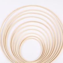 Инструмент для вышивания обруча, бамбуковый круг, Круглый, сделай сам, ремесло, вышивка крестиком, китайский ручной инструмент для шитья 10/13.1/15/23.3/26.2/29 см