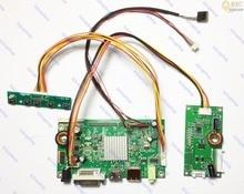 HDMI + DVI + DP LCD контроллер плата монитор Комплект инвертор комплект для 2560X1440 LM270WQ1(SD)(E3) LM270WQ1-SDE3 экран монитора