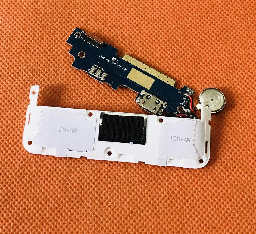 Placa de carga de enchufe USB Original usada + altavoz fuerte para OUKITEL K4000 Lite MTK6735 Quad Core envío gratis