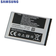 Originele Samsung Vervangende Batterij Voor C3300K X208 F299 E2330C E329i B189 C408 E1190 SCH-E339 AB463446BU AB043446BE AB553446BC