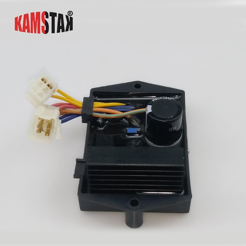 AVR5-1W7G مولد الديزل AVR الجهد المنظم منظم لحام وقطع غيار مولد الاستخدام المزدوج
