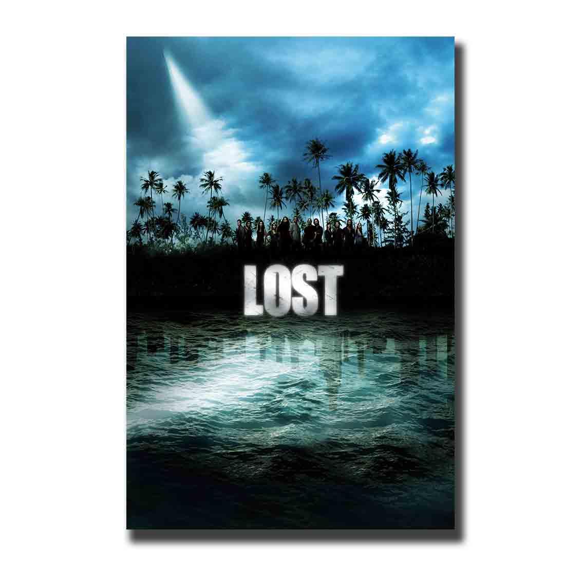 LOST TV The Island Jack Kate Hurley Lock Ben Jacob художественный постер на заказ для дома 8x1212x18 24x36decoration холст для гостиной