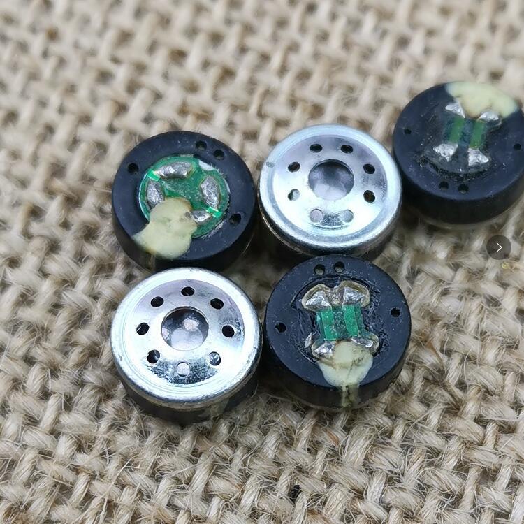 Unidad de altavoz de 8,1mm bobina de fiebre ie800 Unidad de Análisis trible altavoz de alta sensibilidad 2 piezas
