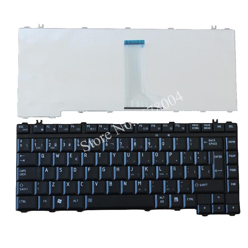 Nuevo para TOSHIBA Satellite A200 A205 A210 A215 A300 M200 M205 M300 M305 L300 L305 serie SP/teclado de portátil español