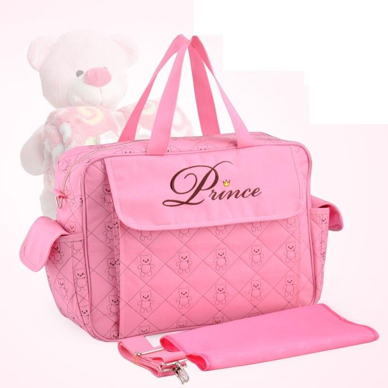 Bolsa de mamá Insular para cochecito de bebé, bolsa de pañales impermeable para mamá, bolsas de maternidad multifuncionales, bolsa de viaje duradera para lactancia