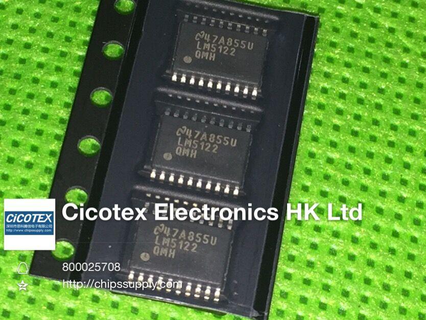 LM5122QMHX TSSOP20 IC REG CTRLR intensidad 20HTSSOP LM5122QMHE 5122 HTSSOP20 LM5122 QMH