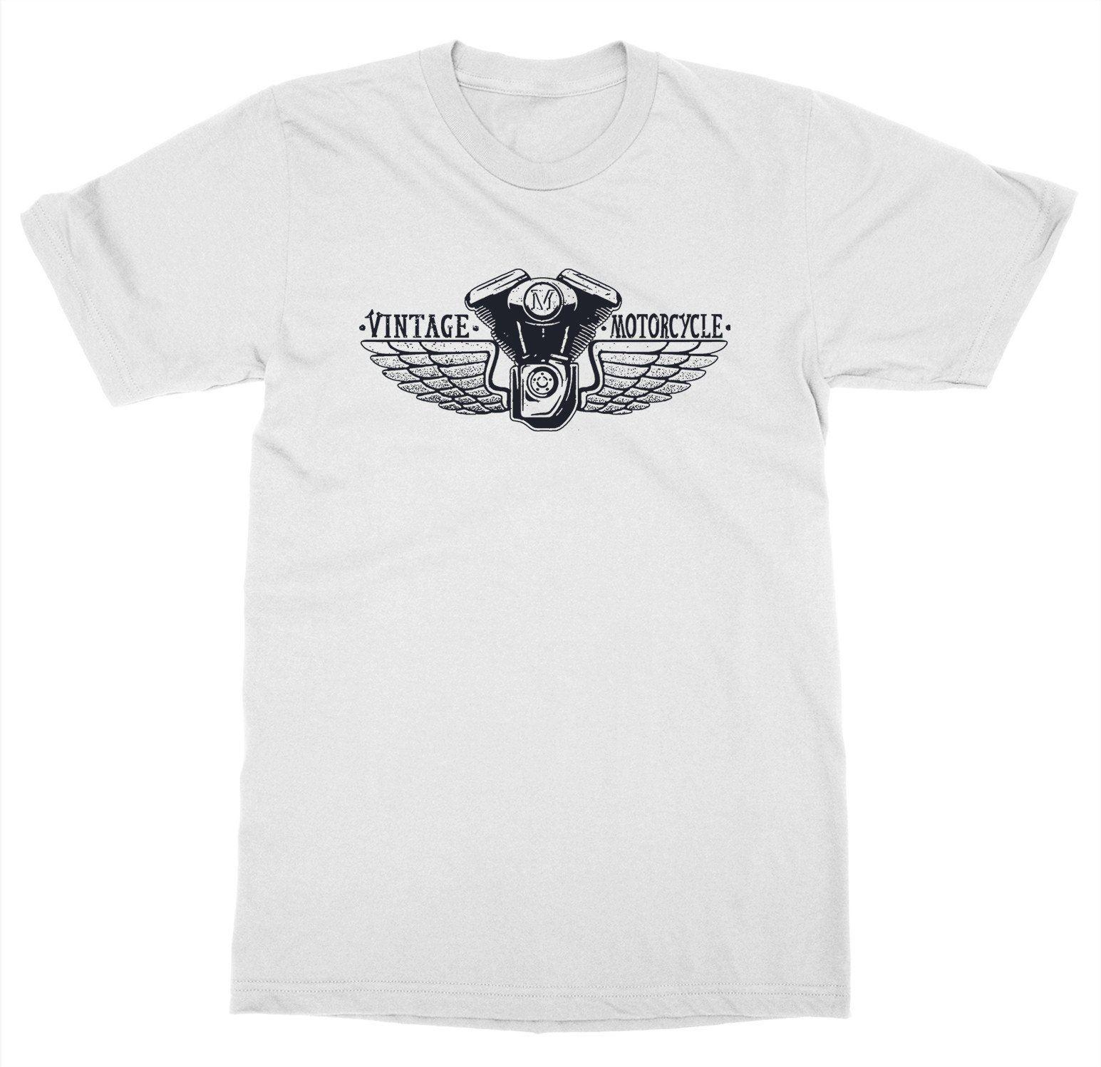 Shirt Funny T-Shirt Men Vintage Motorcycle Wings T-Shirt Ride or Die Club Gear Race Biker Shop Live Fastcustom Tee Shirts