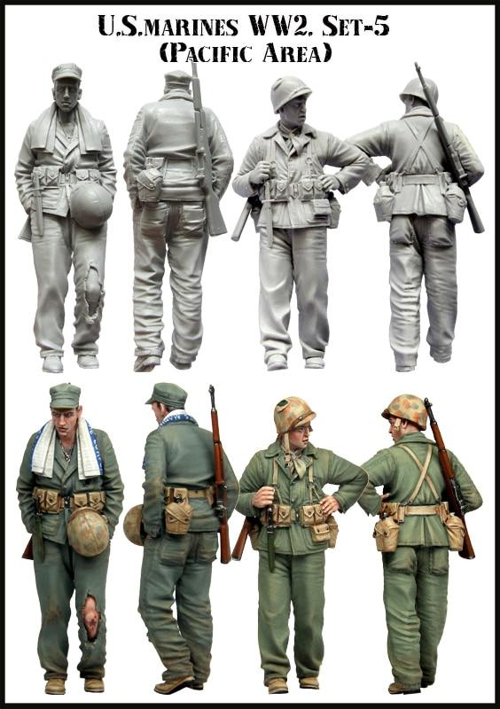 135 EUA marines. WW2. Oceano pacífico