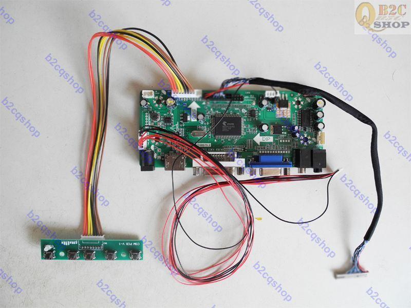 HDMI + DVI + VGA LCD контроллер драйвер монитор плата комплект для G104SN02 V.2 V2 панель 800X600