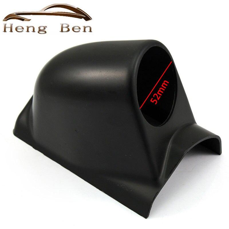 """HB черный 2 """"52 мм универсальный А-столб с одним отверстием, измерительный прибор, держатель для левого привода"""
