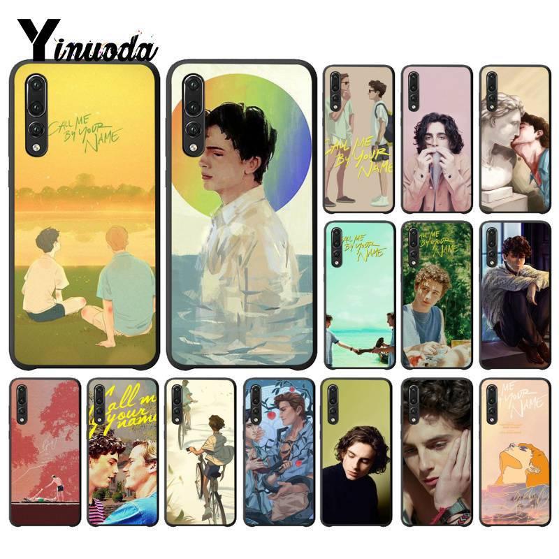 Yinuoda me chame por seu nome nova chegada moda telefone capa para huawei p9 p10 plus mate9 10 mate10 lite p20 pro honor10 view10