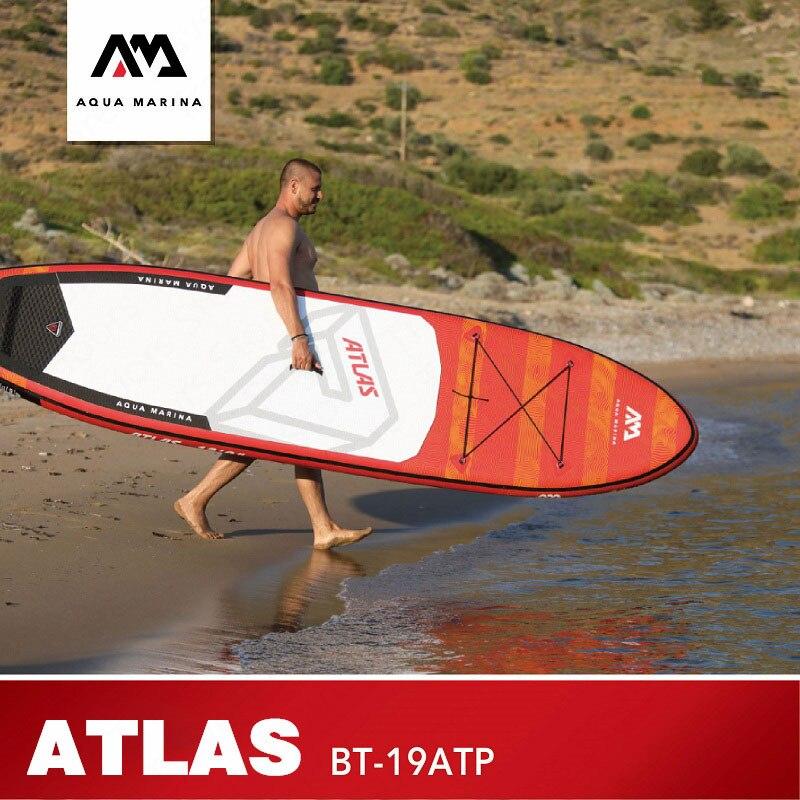 Tabla de Surf AQUA MARINA ATLAS, tabla de Surf, tabla de Surf, tabla inflable de Surf, tabla de paddle, tabla de Surf de 366x84x15cm