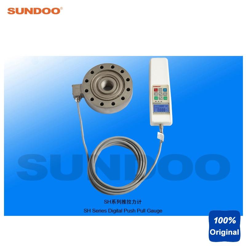 Medidor de tensión de empuje Digital Sundoo SH-200K 200KN