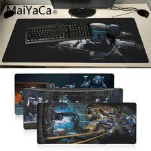 MaiYaCa star wars république commando grand tapis de souris PC ordinateur tapis de jeu tapis de souris tapis de précision verrouillage tappetino souris