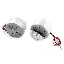 2 uds Mini Motor de vibración 3500RPM DC 1,5-6V para Joystick de juego