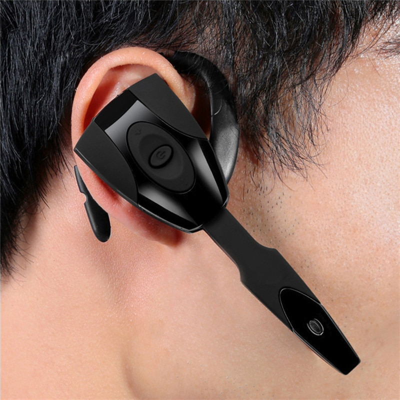 Wireless Bluetooth 4.0 Headset Stereo Earphone with Microphone Ear Hooks For IPhone Xiaomi Redmi PS3 PS4 Wireless Earphone