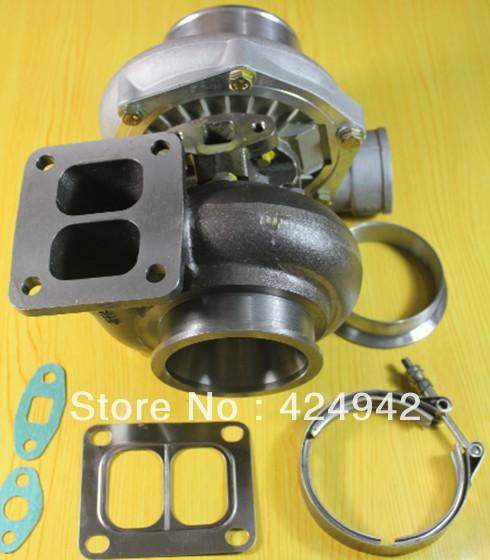"T70 T04Z T4 gasket flange .84 A/R compressor housing .70 A/R oil cooled 4"" v-band turbo turbine TurboCharger"