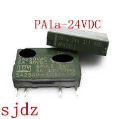 2 piezas PA1a-24VDC 24 V DC24V APA3312 PLC PA1a-24VDC 5A 250VDC