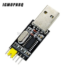 10 stücke USB zu TTL konverter UART modul CH340G CH340 3,3 V 5V schalter