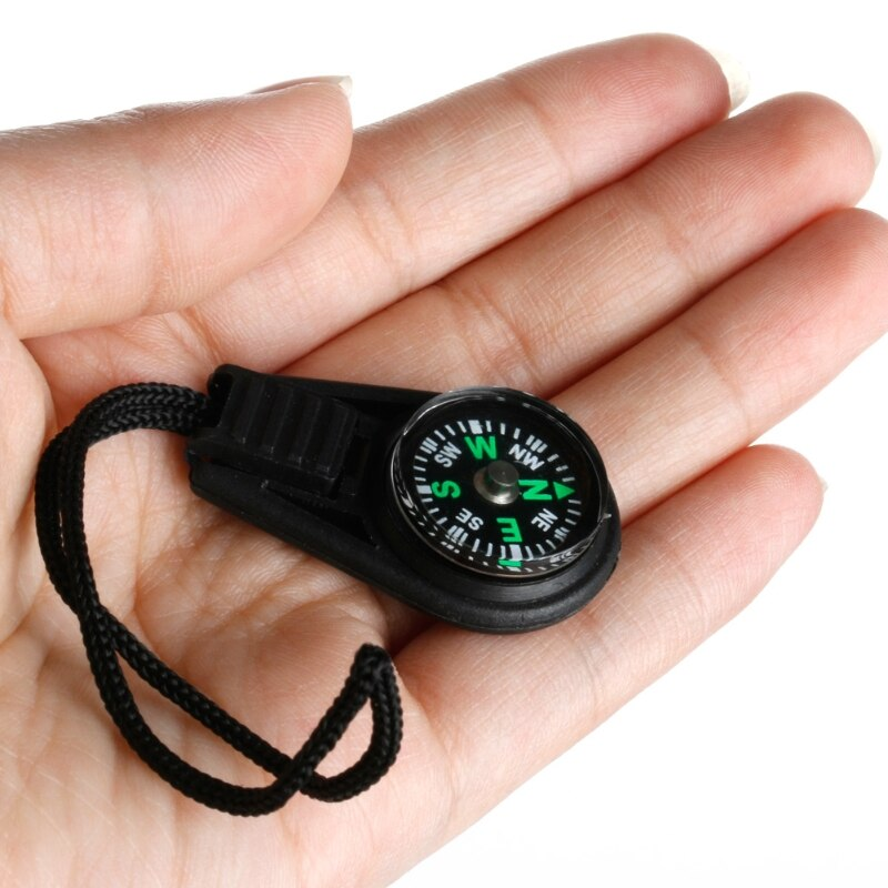 Mini Zipper Pull Compass Backpack Bag Strap Charm Sport useful