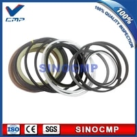 2 sets r300lc 7 r300 7 boom cylinder repair seal kit 31y1 15395 for hyundai excavator service kits 3 months warranty
