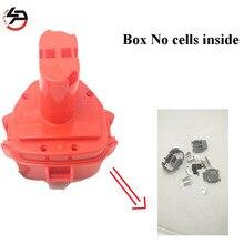 Boîtier de batterie Rechargeable 12 v NI-MH NI-CD pour coque en plastique Makita (boîte sans cellules à lintérieur)