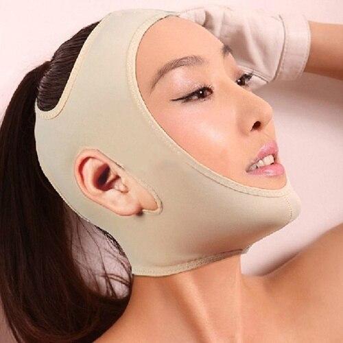 Fashion Wrinkle V Face Chin Cheek Lift Up Slimming Slim Mask Ultra-thin Belt Strap Band -27