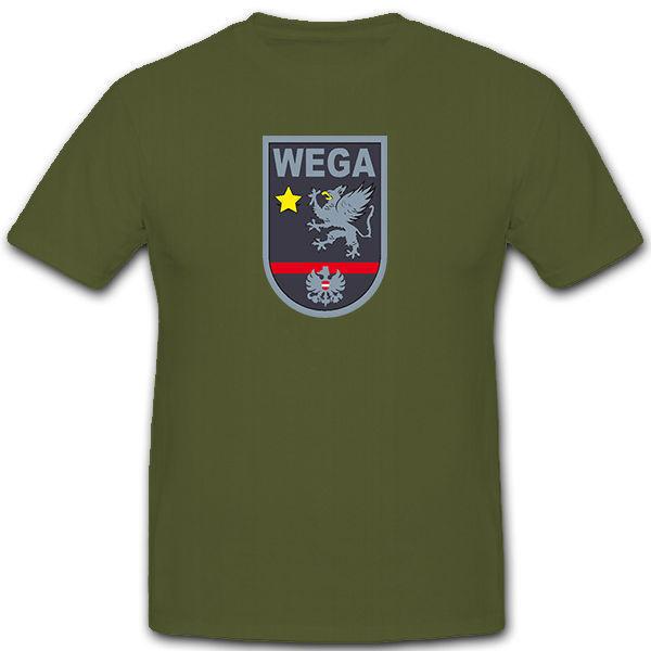 2019 ropa de marca de verano WEGA Sondereinheit Wiener osterreichische Polizei Wappen-Camiseta novedad #12586