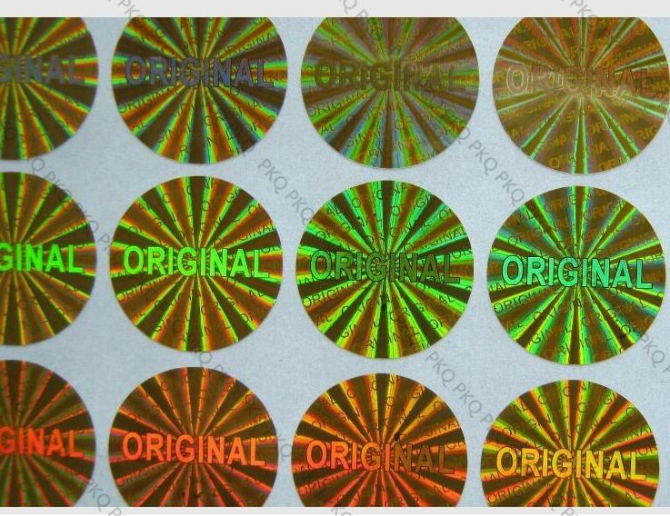 "Pegatina ""ORIGINAL"", pegatina láser holográfica de una sola vez, 1,5 cm 1000 piezas ""ORIGINAL"" garantía sello láser holograma pegatina/etiqueta"