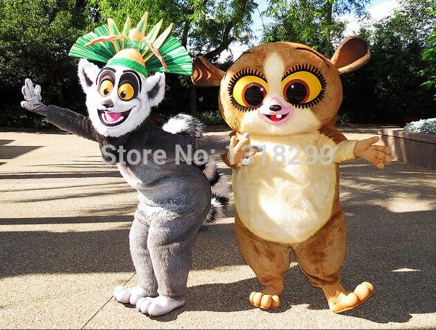 mascot   lemur mort mascot costume fancy dress custom fancy costume cosplay theme mascotte carnival