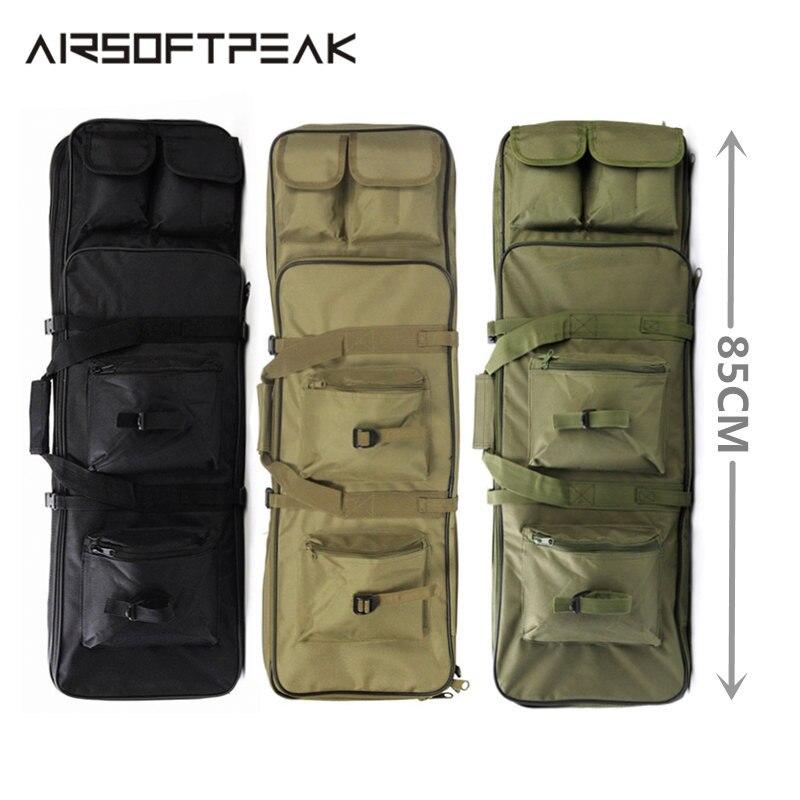 Нейлоновая уличная сумка 85 см/33,5 дюйма для винтовки, военный охотничий мешок, тактические квадратные сумки для переноски, защитный чехол дл...