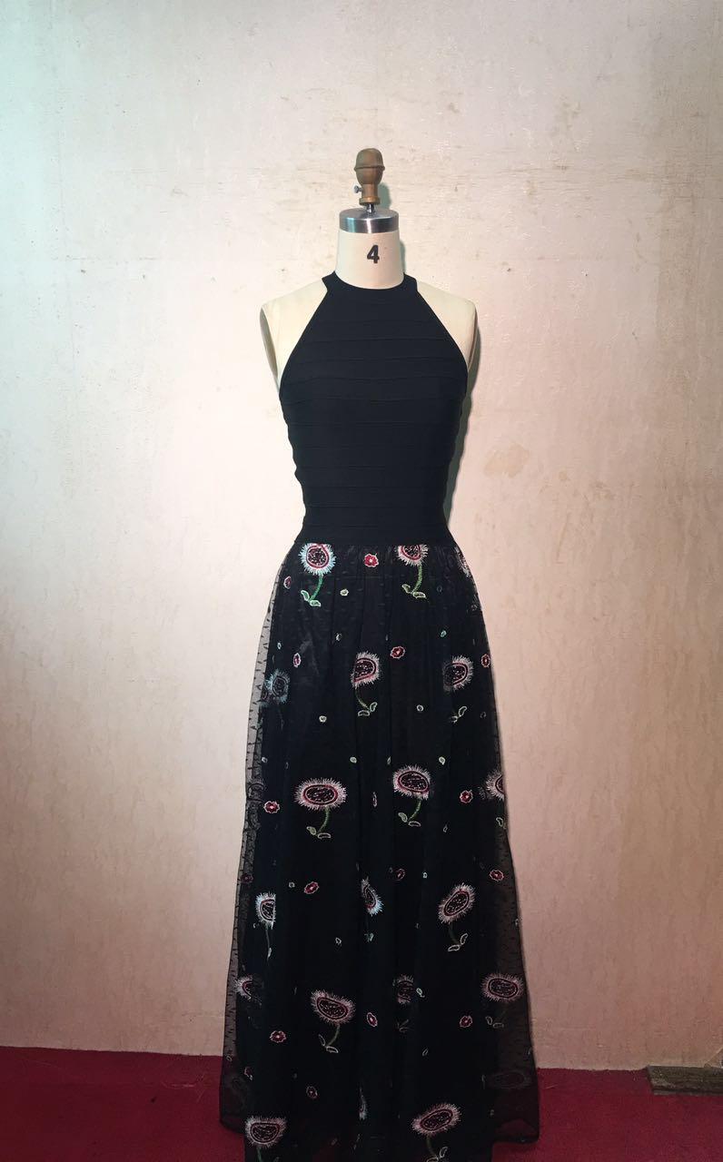 ¡Novedad! vestido ajustado HL para mujer, vestido largo hasta el suelo de fiesta, vestido de moda al estilo de los famosos