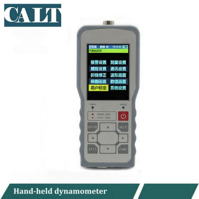 Portable weighing dynamometer DY-910 hand held Weighing force measuring meter nk 20 portable dynamometer push pull force gauge tester meter analog force gauge