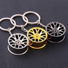 Porte-clés roue de voiture   Mini porte-clés créatif de voiture, pièces de réparation automobile, pneu de voiture, porte-clés de voiture, accessoires