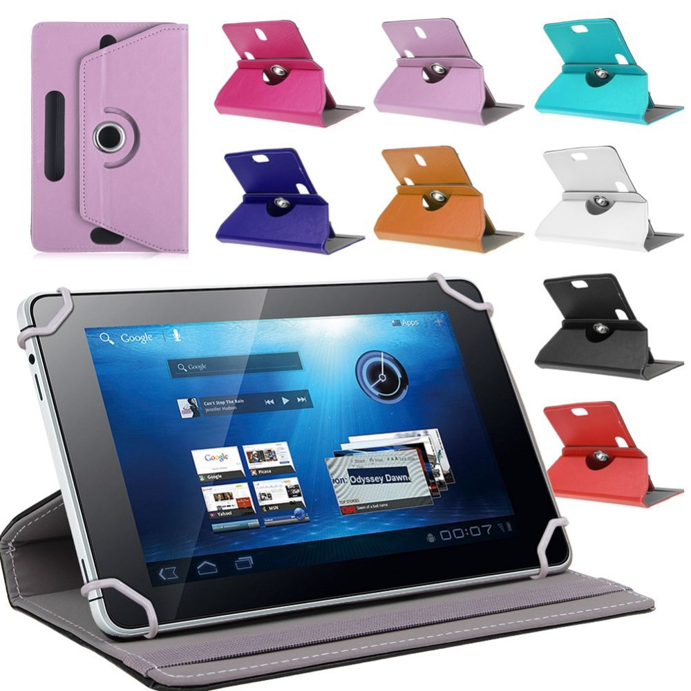 Универсальный 10-дюймовый чехол-подставка из искусственной кожи для планшета CARBAYTA/CARBAYSTAR/CIGE T805C K999 S109 CB990 с вращением на 360 градусов + ручка