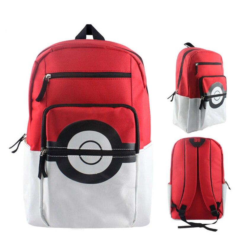 Школьная сумка через плечо с рисунком Pokemon Pikachu Poke, Детский плюшевый рюкзак, бесплатная доставка, BY0119
