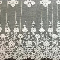 2yards africa lace fabric white width 45cm cotton water soluble lace embroidery diy garment wedding dress bedding accessories