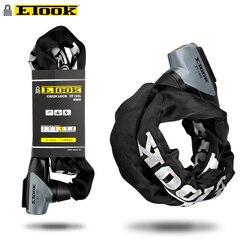 Etook замок цепи Горная дорога велосипед замок дверной замок скутер велосипед аксессуары отражающая ткань удлинить 1000 мм ET155L