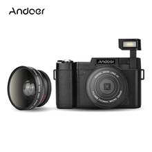 "Andoer CDR2 1080P 15fps كامل HD 24MP كاميرا رقمية 3.0 ""تدوير شاشة LCD المضادة للاهتزاز فيديو DV مسجل كاميرا فيديو"