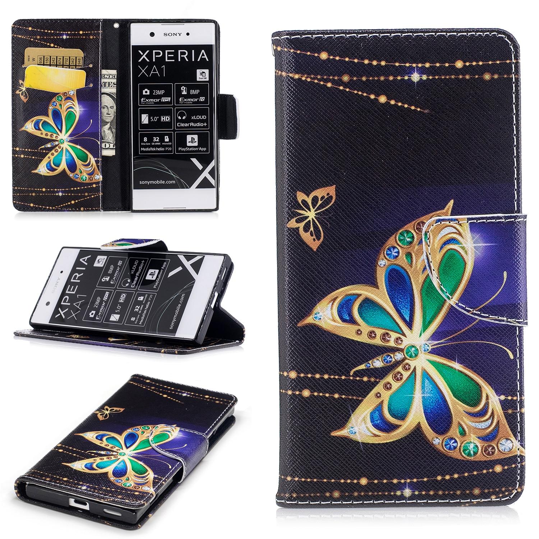 Флип-чехол для sony Xperia XA1 XA 1 G3125 G3121 G3123 G3112 G3116, чехлы для телефонов с изображением поросят, панды, бабочки, чехол для sony XA1