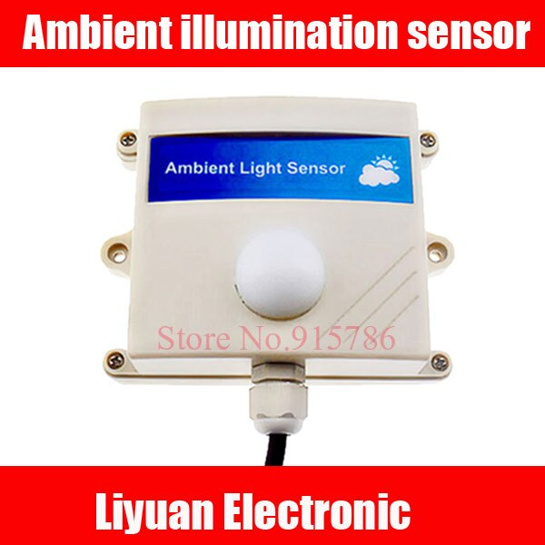 4-20MA Ambient illumination sensor / RS485 light transmitters / illumination acquisition sensor /Light intensity sensor