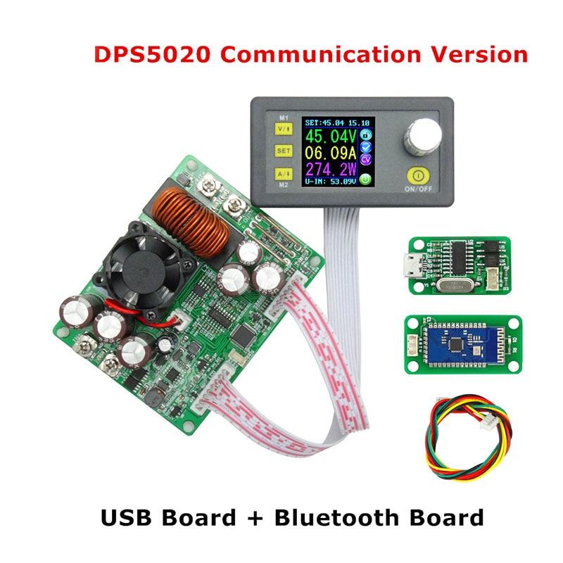 DPS5020 التحكم الرقمي امدادات الطاقة 50 فولت 20A قابل للتعديل الجهد المستمر فاحص/ مختبر التيار الكهربائي تيار مستمر الفولتميتر المنظمين مقياس الت...