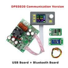 DPS5020 fuente de alimentación de Control Digital 50V 20A probador de corriente constante de voltaje ajustable voltímetro DC amperímetro regulador